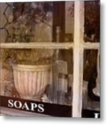 Need Soaps Metal Print by Susanne Van Hulst