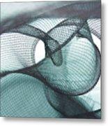Net Design Metal Print
