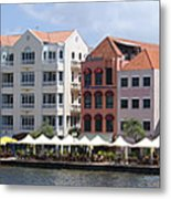 Netherlands Antilles Metal Print