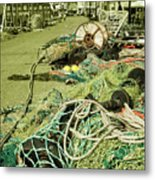 Nets N Ropes  Metal Print