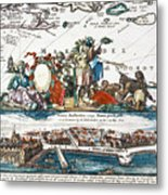 New Amsterdam, 1673 Metal Print