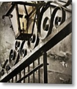 New Orleans Gaslight Metal Print by Beth Riser
