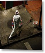 New Orleans Shuffle Metal Print