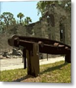 New Smyrma Sugar Mill Metal Print by Allan  Hughes