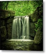 New York City Waterfall Metal Print