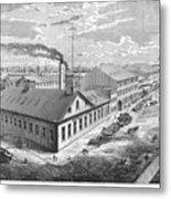 New York: Iron Works, 1876 Metal Print
