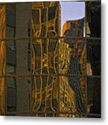 New York Sunset 1 Metal Print
