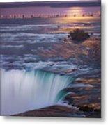 Niagara Reflections Metal Print