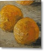 Nice Oranges Metal Print