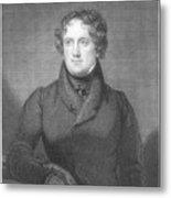 Nicholas Biddle (1786-1844) Metal Print