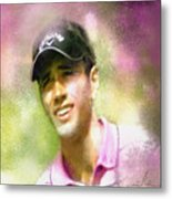 Nick Dougherty In The Golf Trophee Hassan II In Morocco Metal Print