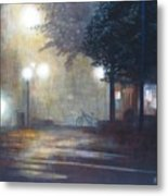 Night Fog Metal Print