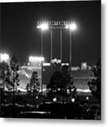 Night Game Metal Print