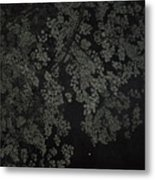 Night Leaves II Metal Print