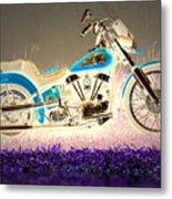 Night Rider Metal Print
