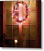 Night Wreath Metal Print