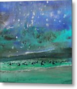 Nightfall 25 Metal Print