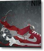Nike Id Metal Print