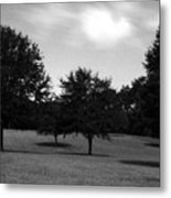 Nine Thirty At Night Where My Heart Is Metal Print