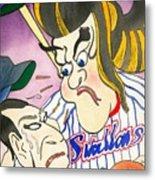 Nippon Baseball  Metal Print