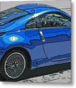 Nissan Z Car Metal Print by Samuel Sheats
