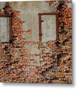 No Windows Metal Print