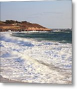 Nobska Point Seascape Metal Print