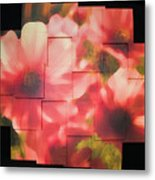 Nocturnal Pinks Photo Sculpture Metal Print