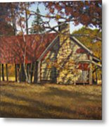 Nolan Corners Farmhouse Metal Print