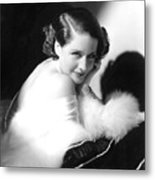 Norma Shearer, Ca. 1930s Metal Print by Everett