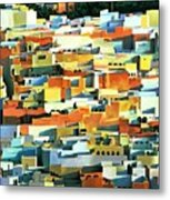 North African Townscape Metal Print by Robert Tyndall