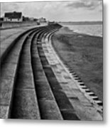 North Beach, Heacham, Norfolk, England Metal Print by John Edwards