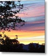 Northern Ca June Sunset  Metal Print