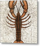 Northern Lobster Metal Print by Charles Harden