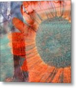 Not Another Sunflower Metal Print by Myrna Migala