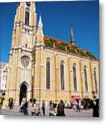 Novi Sad Cathedral Metal Print