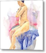 Nude Female 15 Metal Print
