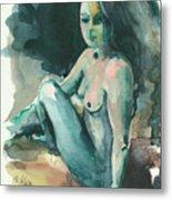 Nude I Metal Print