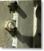 Nuts Bolts And Shadows Metal Print