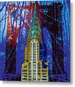 Nyc Icons Metal Print by Gary Grayson