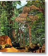 Nymph Forest Metal Print