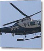 Nypd Aviation Unit Metal Print