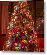 O Christmast Tree Metal Print