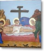 O Epitafos Jesus Metal Print
