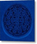 O R E O In Blue Metal Print