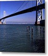 Oakland Bay Bridge 1985 Metal Print
