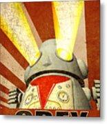 Obey Version 2 Metal Print