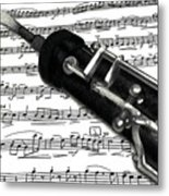 Oboe Metal Print