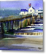 Ocean City Fishing Club Metal Print