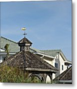 Ocean Isle Fish Weathervane Metal Print